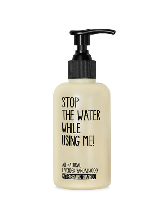 Naturkosmetik Lavender Sandalwood Regenerating Shampoo 200 ml 200 ml von Stop The Water While Using Me!