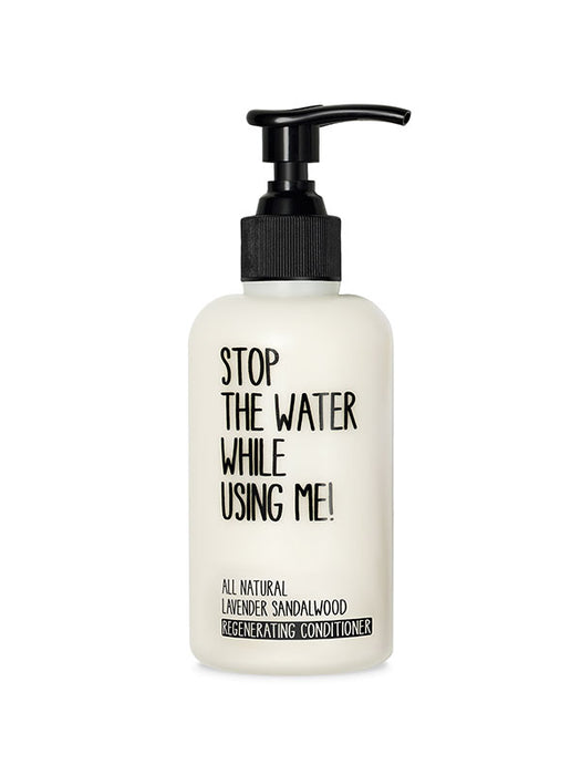Naturkosmetik Lavender Sandalwood Regenerating Conditioner 200 ml 200 ml von Stop The Water While Using Me!