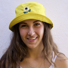 Load image into Gallery viewer, Bright Yellow Sunflower Bucket Hat