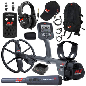 Minelab CTX-3030 Waterproof Metal Detector w/ Exclusive Accessory Package