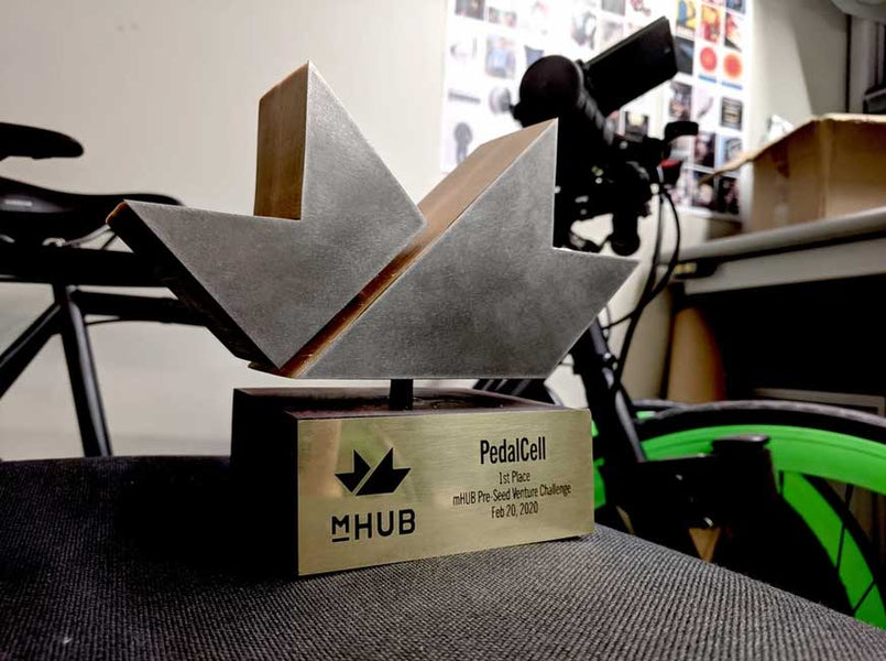 PedalCell wins 2nd Annual mHUB Venture Challenge