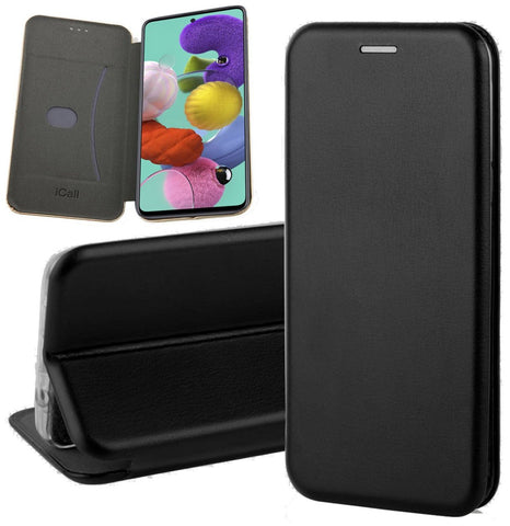 Galaxy A51 Book case Zwart | iCall
