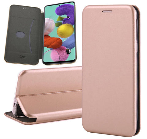 Galaxy A51 Book case Rose | iCall