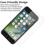 Apple iPhone 8 Screenprotector - Case Friendly