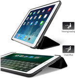 iPad 2019 10.2 - Smart Book Case Siliconen Hoesje | iCall