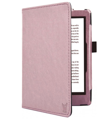 Kobo Aura H2O Edition 2 - Hoes Lederen Book Case Cover
