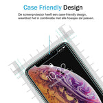 Apple iPhone XR Screenprotector - Case Friendly