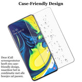 Samsung Galaxy A80 Screenprotector - Case Friendly