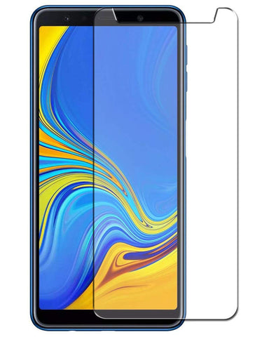 Samsung Galaxy A7 (2018) Screenprotector - Case Friendly