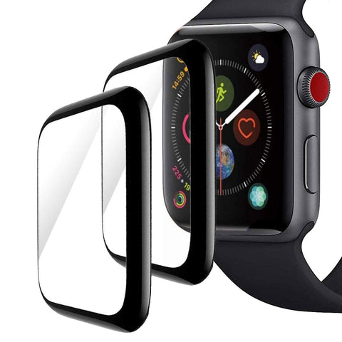 Apple Watch 4 Screenprotector - Tempered Gehard Glas - Full Screen Volledig Beeld
