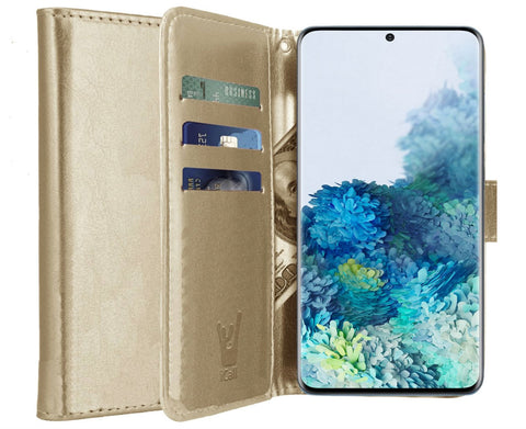 Galaxy-S20 Plus Bookcase Goud