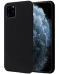 Apple iPhone 11 Pro Max Hoesje - Liquid Case Zwart