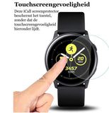 Samsung Galaxy Watch Active Screenprotector - Glas PET Folie - Full Screen Volledig Beeld