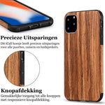 Apple iPhone 11 Pro Hoesje - Sandelhout Case