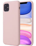 Apple iPhone 11 Hoesje - Liquid Case Roze