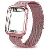 Apple Watch Series 5 - Milanees Bandje + Hoesje