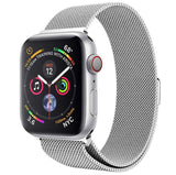 Apple Watch Series 5 - Milanees Bandje Zilver