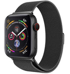Apple Watch Series 5 - Milanees Bandje Zwart
