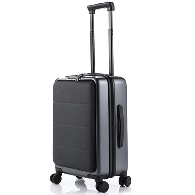 Digital Nomad Cabin Size Travel Suitcase 200003824 digitalnomadcorner Gray