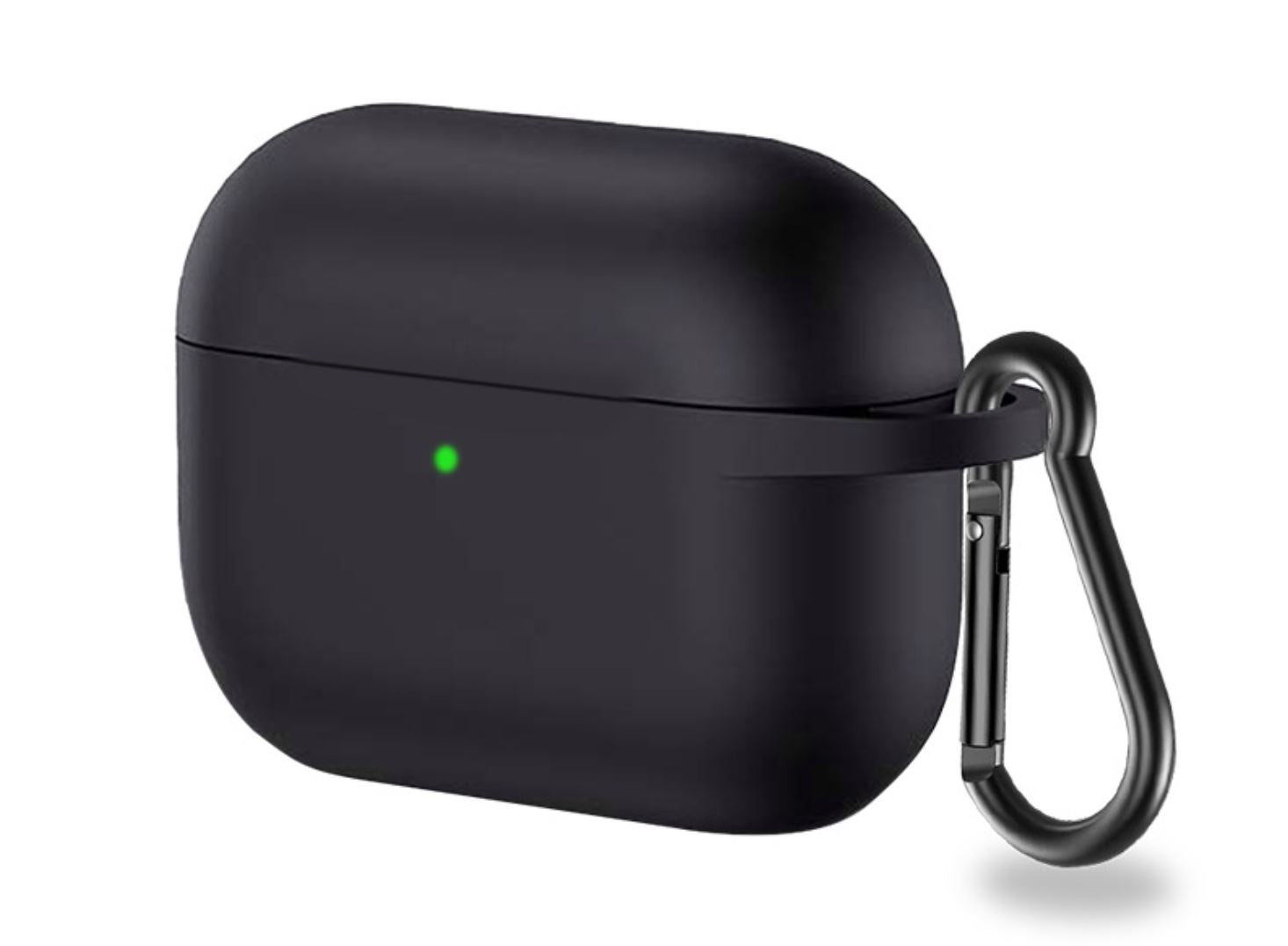 AirPods Pro Cover & its Anti-Lost Buckle 200001619 digitalnomadcorner Black