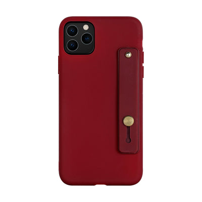 Hand Strap Digital Nomad iPhone Case 380230 digitalnomadcorner iPhone 11 wine red
