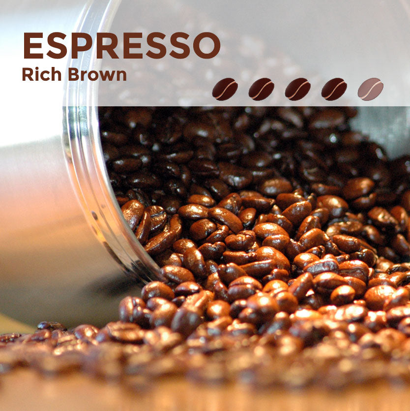 Espresso Rich Brown Coffee Beans