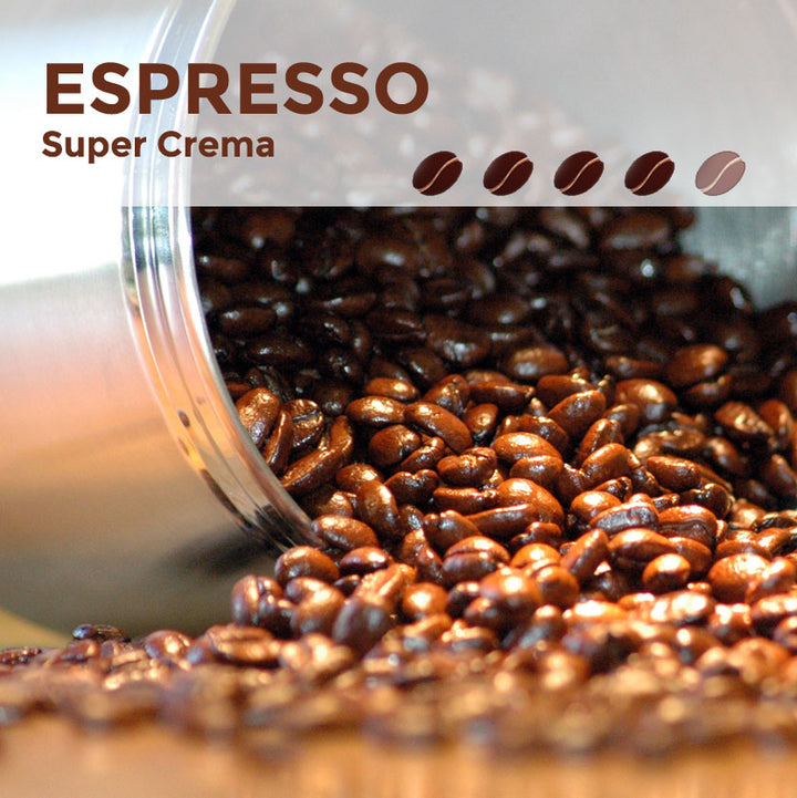 Espresso Super Crema Coffee Beans
