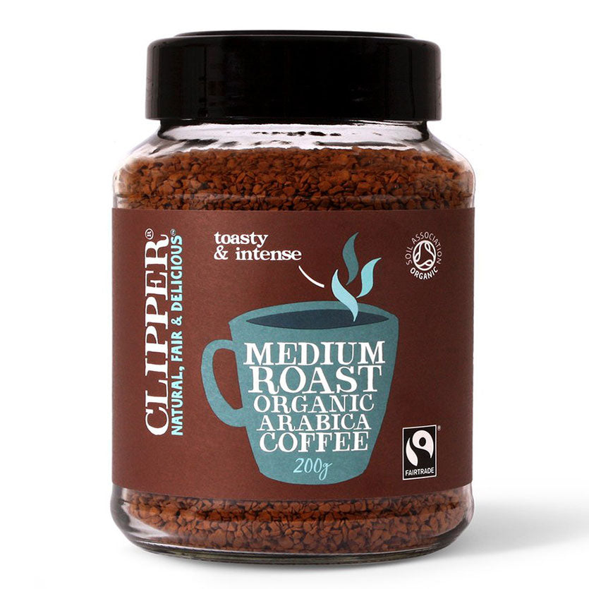 Fairtrade Organic Instant Freeze Dried Coffee Jars