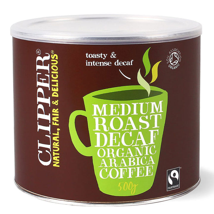 Fairtrade Organic Instant Freeze Dried Decaf Coffee Tins