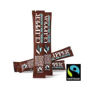 Fairtrade Organic Instant Freeze Dried Coffee Sticks