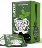 Fairtrade Organic Green Tea 6 x 25