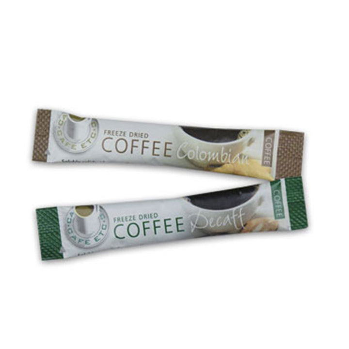 Decaffeinated Coffee Sticks