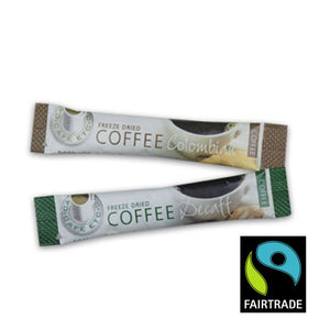 Fairtrade Decaffeinated Coffee Sticks