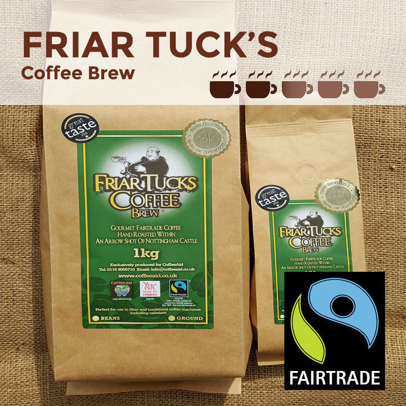 Fairtrade Organic Friar Tucks Ground Coffee Brew