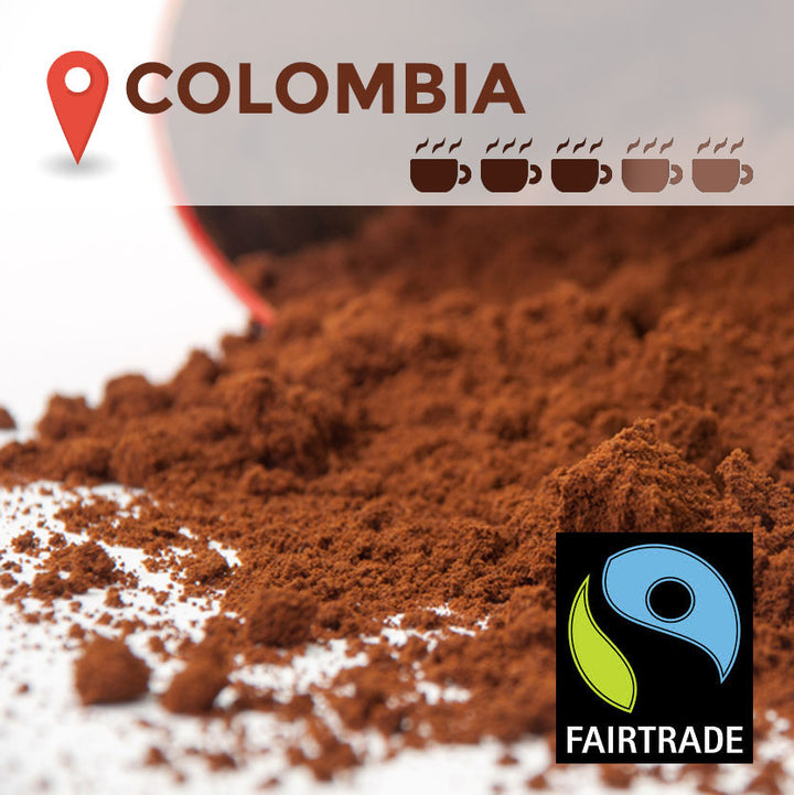 Fairtrade Colombian Filter Coffee - 45 packs
