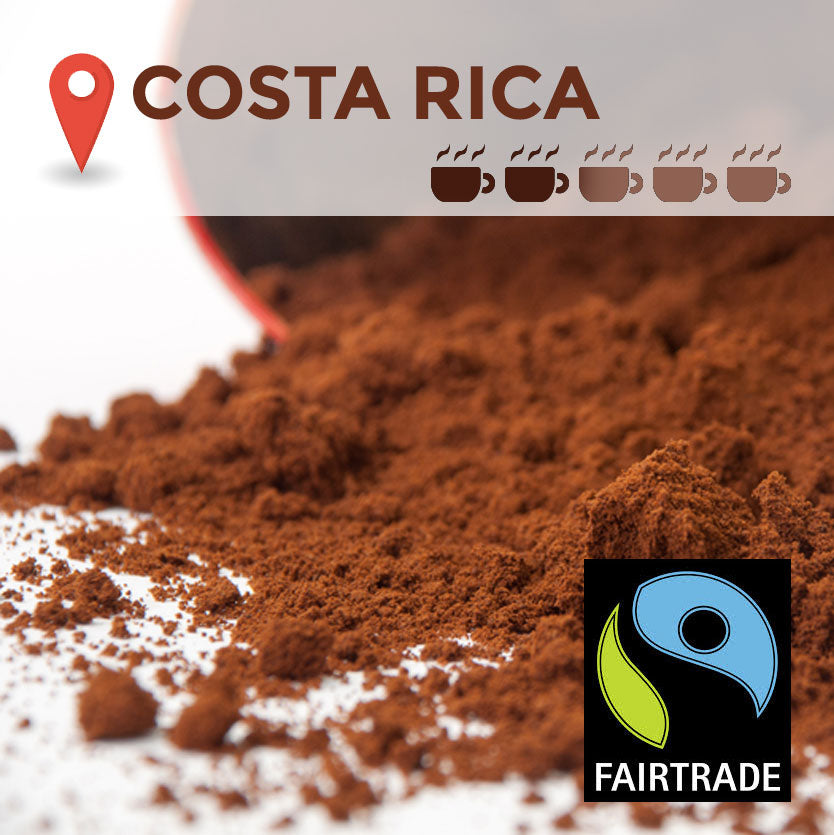 Fairtrade Costa Rica Filter Coffee - 45 packs