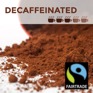 Fairtrade Decaffeinated Filter Coffee - 45 packs