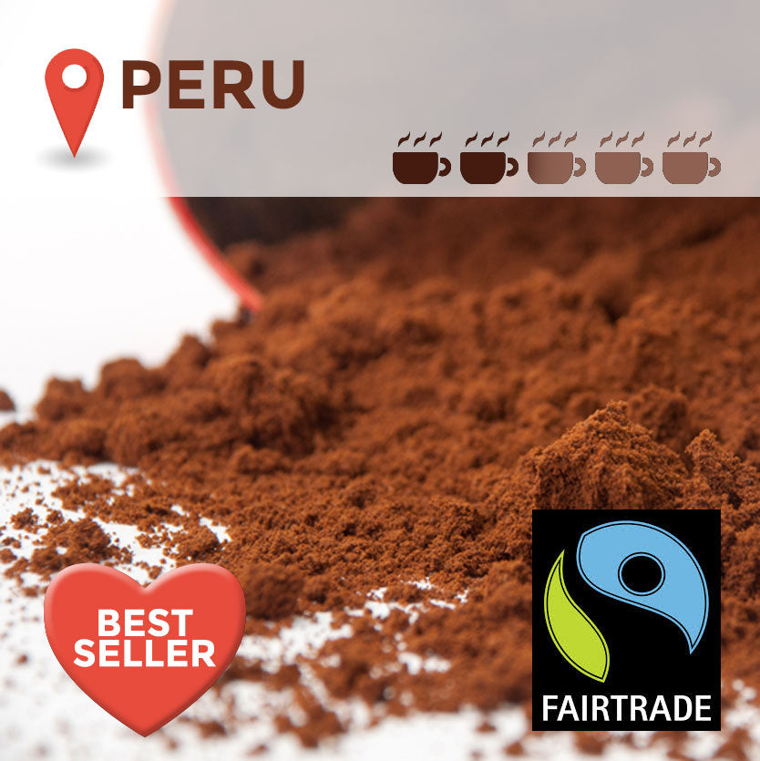 Fairtrade Peruvian Filter Coffee - 45 packs