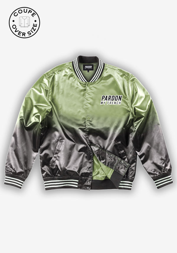 BOMBER KAKI PARDON MY FRENCH FADED EDITION