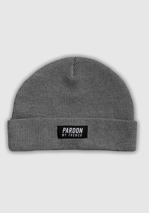 BONNET PARDON  MY FRENCH GRIS