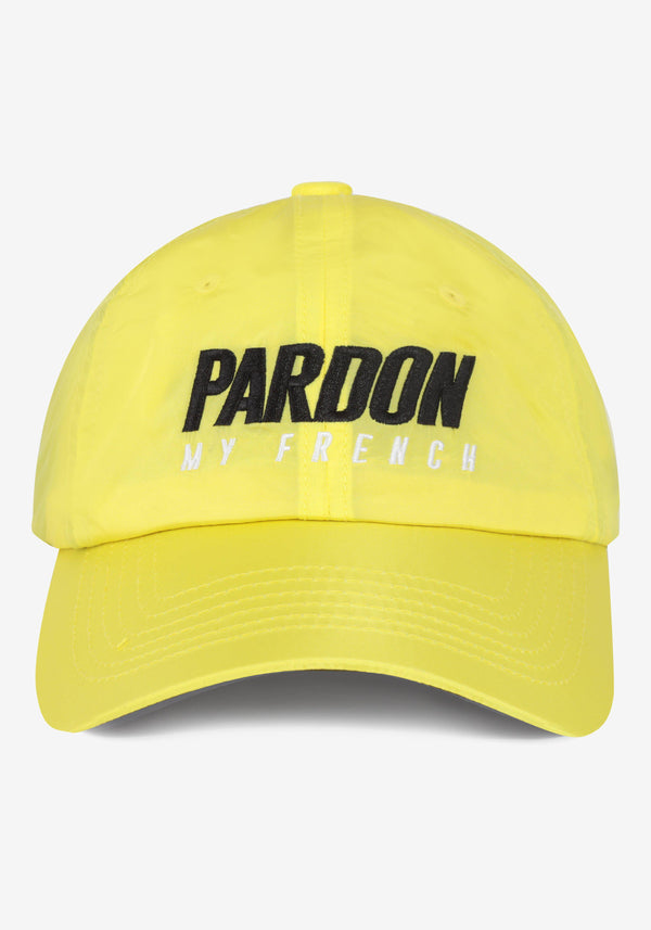 Kappen Pardon My French Neues gelbes Logo-PARDON MY FRENCH