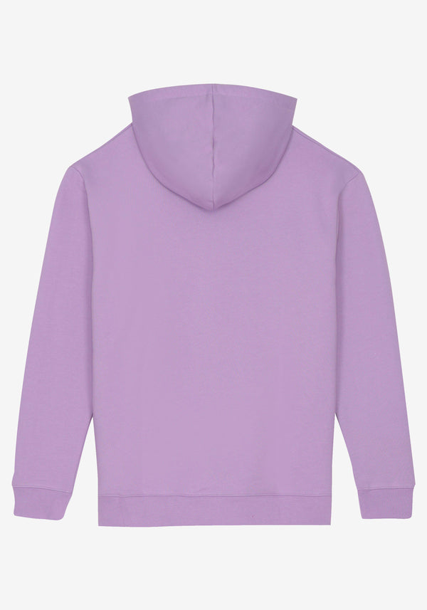 Hoodie Pardon My French New Logo Violet Pastel