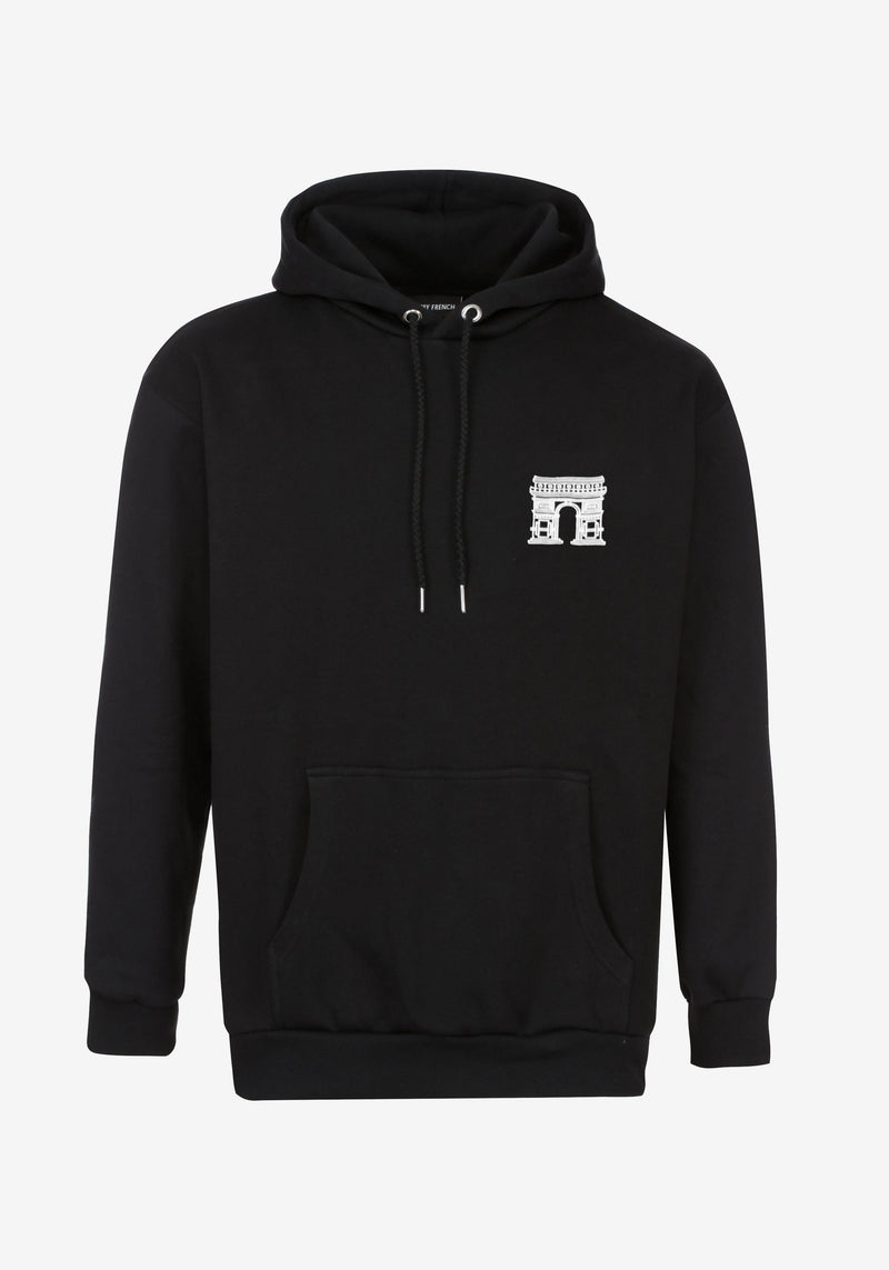 Hoodie Noir EDITION COLLECTOR PARIS 22.02