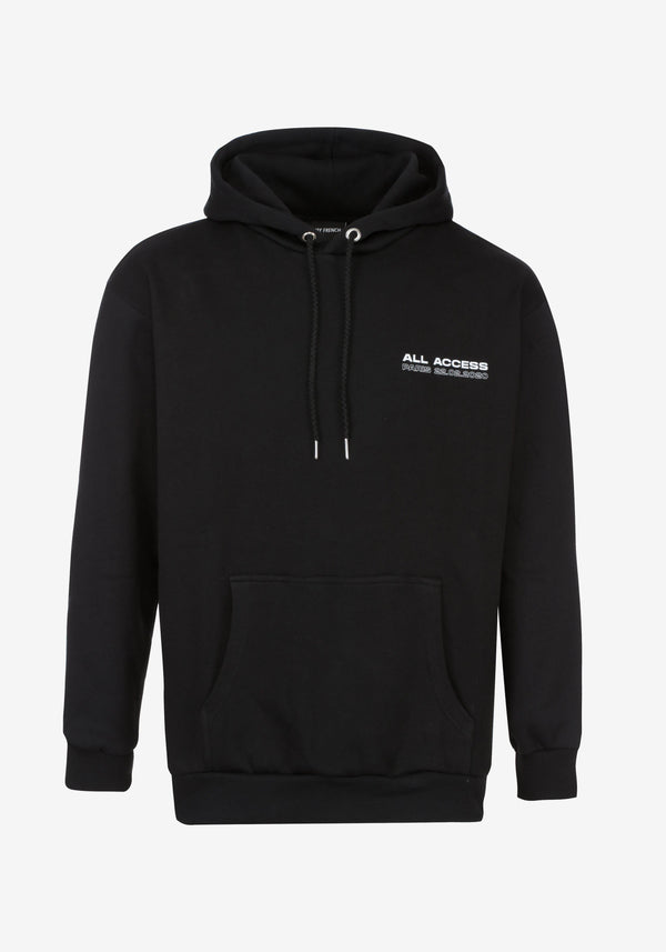 Hoodie Noir All Access Paris Edition Collector-PARDON MY FRENCH