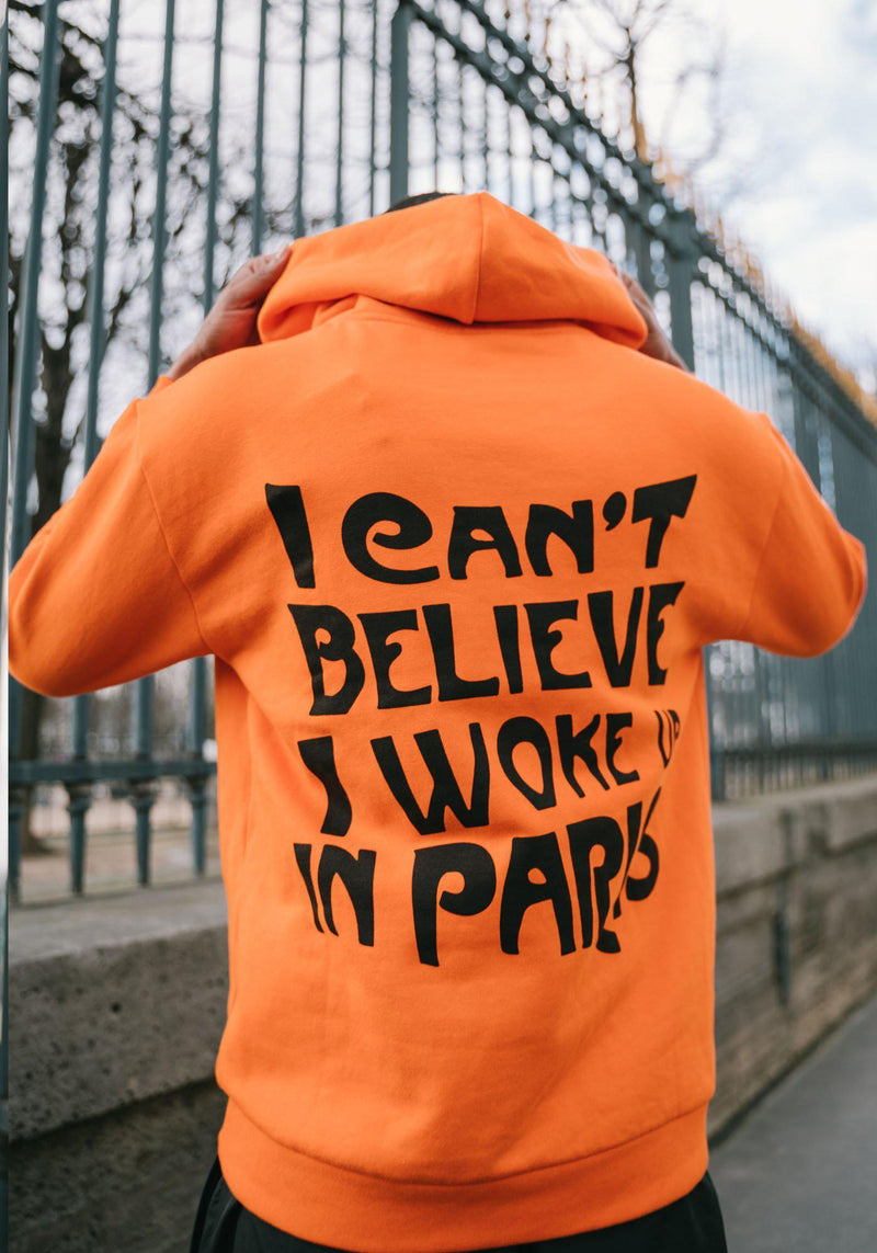Hoodie Orange All Access Paris Edition Collector