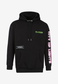 Hoodie noir All Access Paris Edition City of Lights