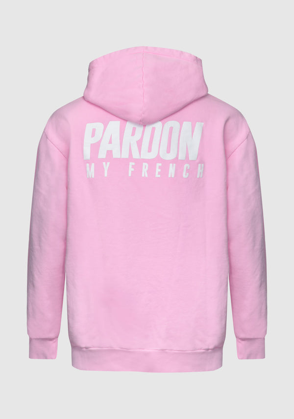 HOODIE PARDON MY FRENCH ROSE NEW LOGO