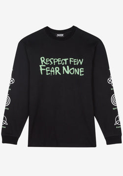 Tshirt Manches Longues Pardon My French Respect Few Fear None-PARDON MY FRENCH