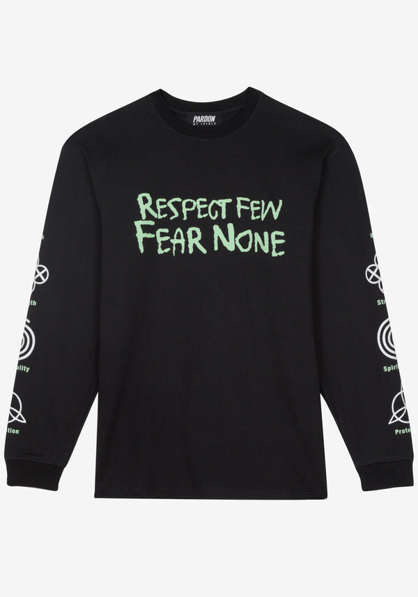 Tshirt Manches Longues Pardon My French Respect Few Fear None