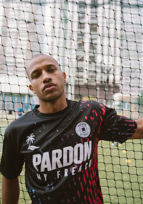 JERSEY PARDON MY FRENCH الصيف 2020 أسود